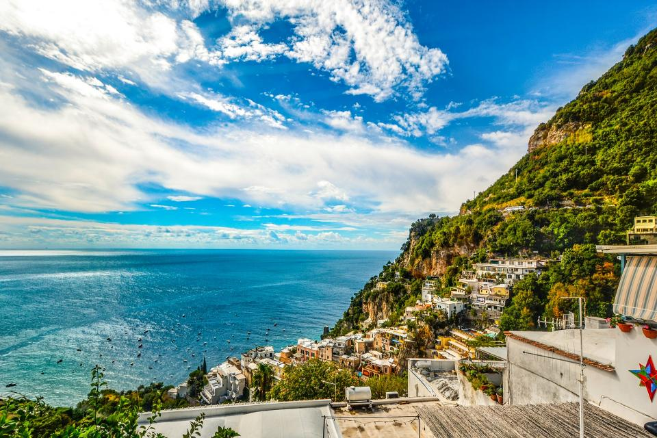 Almalfi Coast towns Sorrento